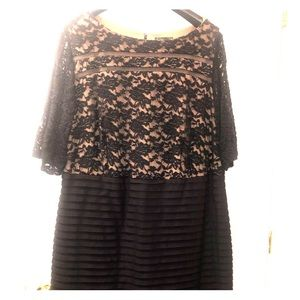 Plus size formal dress from Dress Barn size 24.